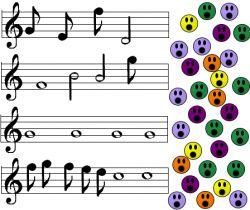 Trei cantecele pentru copii